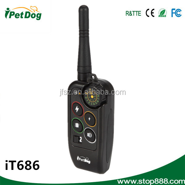 iT686 Buckle for dog collar with 1000 meters remote control