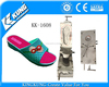 PVC airblowing single color slipper shoe mould