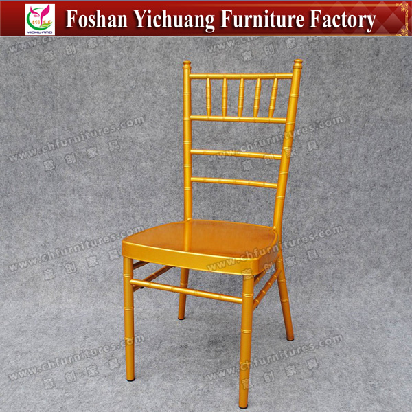 YC-A22-04 Durable Aluminum Tiffany Chair, Silla Tiffany, Chiavari Chair
