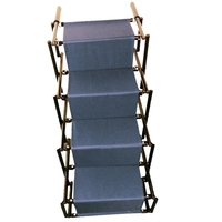 Dog ladder portable folding ,jenfEQ outdoor car stairs for pets