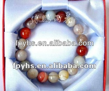 natural beautiful rain flower stone bracelet