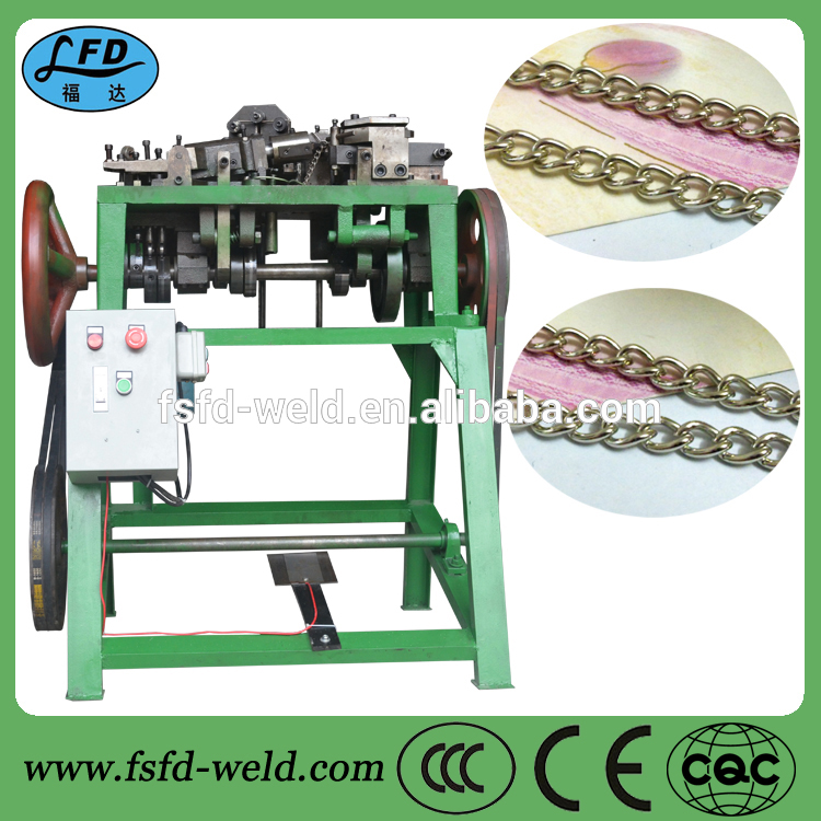Fully-automatic chain link fence machine chain bending machine