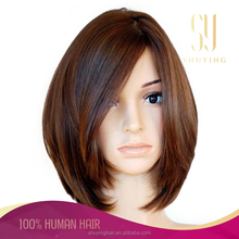 Best selling Top quality silk Virgin Human European Hair Jewish Wig Kosher Wigs