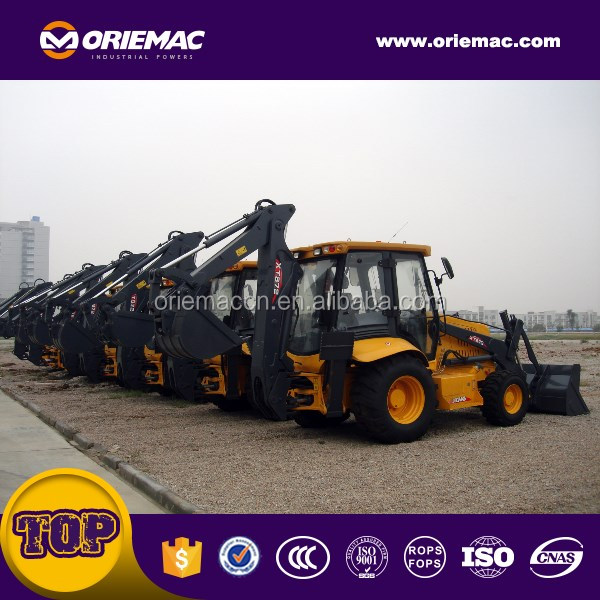 Oriemac front loader with backhoe XT872