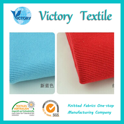Rib Knitted Fabric Wholesale for Baby Clothes,Garment,T shirt etc