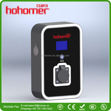 Hohomer new wall mouted AC charging station for electric vehicles