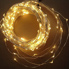 10M 100L DC12V Cool White Ultra Thin Mini Rice Silver Wired Led Fairy String Twinkle Lights