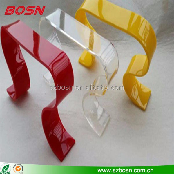 Manufactory good quality acrylic risers pedestals wholesale shoe display racks
