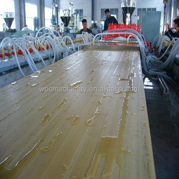 WPC door panel extrusion line/600-900mm Wood plastic wpc door machine/pvc door machine