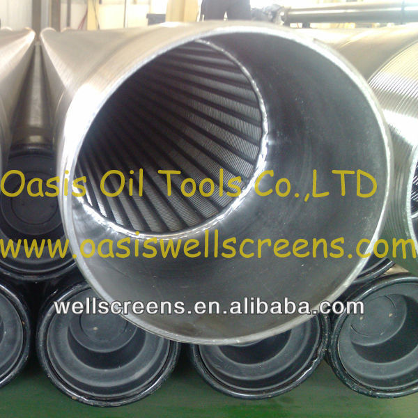 "16"" Stainless Steel Wire Wraped Screens for well drilling"