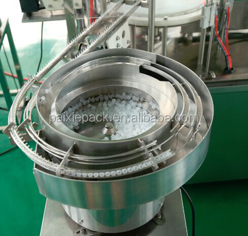 CE automatic e-liquid plastic bottle/glass dropper bottle filling machine