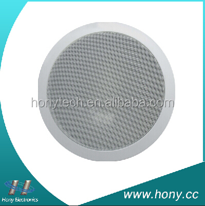 "Unique design voice size 8"" ceiling pa speaker for multi zone audio system"
