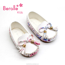 Wholesale Handmade Fashion Toddler Infant Soft Sole Pu Leather Baby Shoes