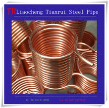 Manufacturer preferential supply High quality seamless pancake coil copper tube/pipe ASTM B280/JIS H3300