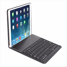 7 Colors LED Backlit Wireless Bluetooth Keyboard Smart Stand Colorful Keyboard Case for iPad Pro 10.5 inch 2017