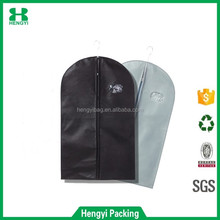 Wholesale Nonwoven suit cover garment bag / dress cover backpack for clothes