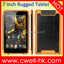 PS-K8000 MTK6572 Dual Core 3G WCDMA Android 4.2 WIFI GPS 1GB RAM 16GB ROM 7 inch touch screen Rugged tablet