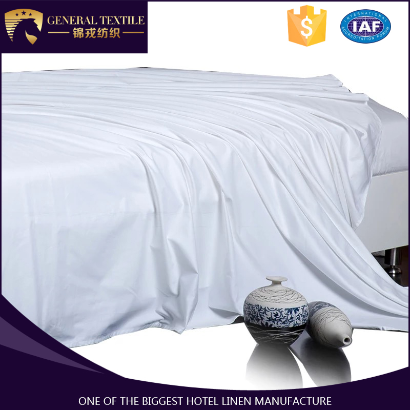 Wholesale Queen Size bed linen sheet full cotton for hotels