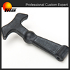 abrasion resistance rubber handle, molded rubber handle, rubber tool handles