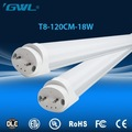 High lumen led fixtures4ft 18W 120lm/W LED T8 lighting tube led tube