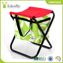 Perfect in workmanship mini outdoor folding chair with cooler bag