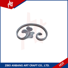 Modern professional wrought iron scrolling parts