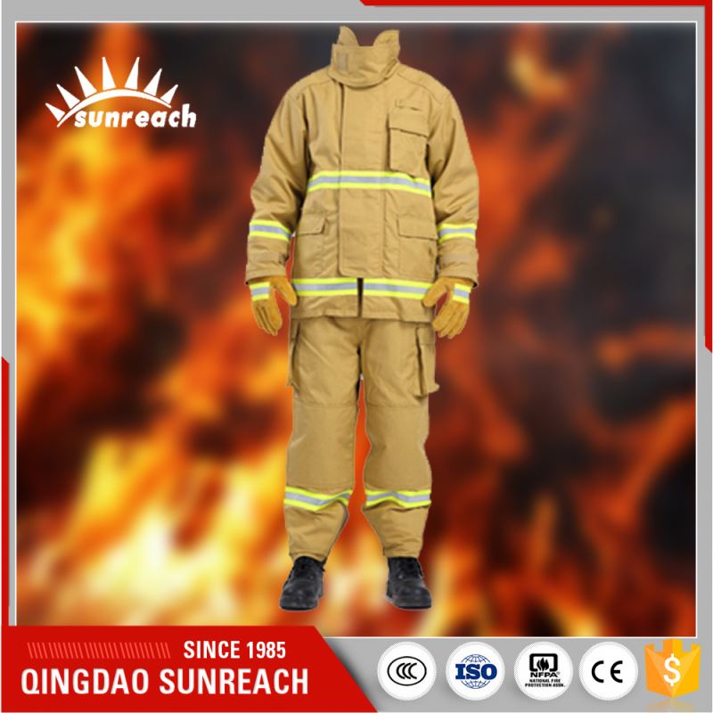 China Brand Name Clothing Best Quality For Fireman Fire Suit