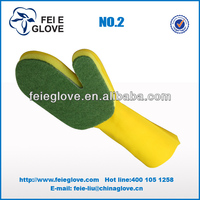 cheap price high quality beautiful color household rubber glove