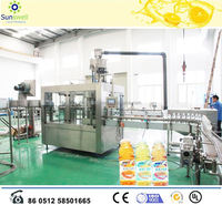 Automatic bottled apple juice machine and production line