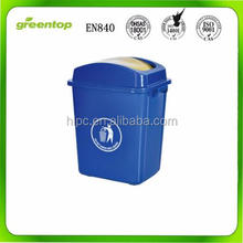 environmentally friendly dustbin outdoor plastic dustbin indoor waste bin colored dustbin 30 L wholesale plastic bins