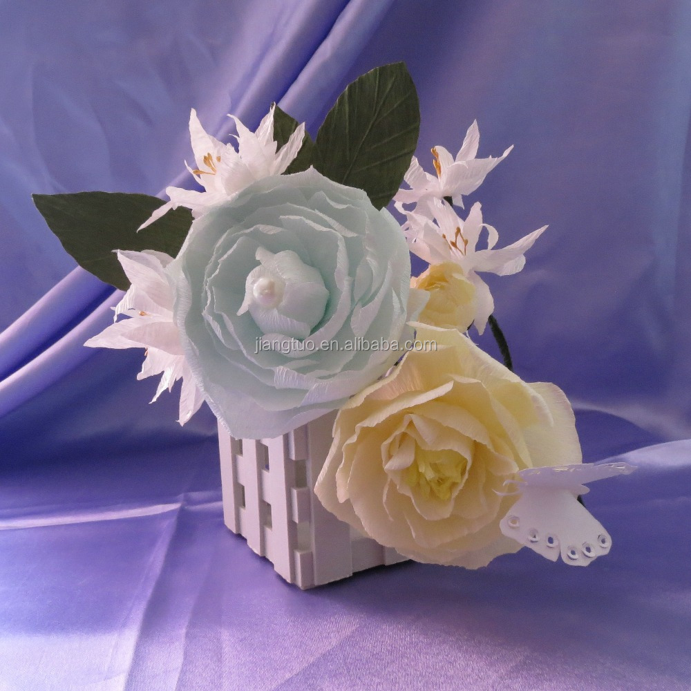 Custom Design Handmade Table Decoration Wedding Centerpiece Paper