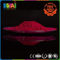 Royai Colors high temperature resistant free sample organic pigment red powder
