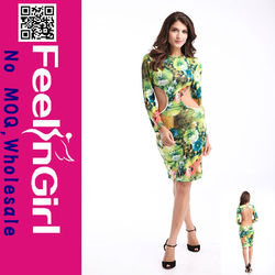 2014 Well made cute pink dresses for women wholesale