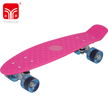 Customized Printing Skateboard For Kids, 22 Inch Foot Skate Longboard For Outdoor