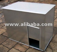 metal coal bunker