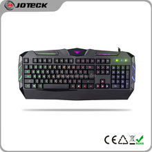 latest neon light transparent plastic gaming computer keyboard