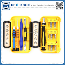Diverse Precision Screwdriver Set Repair Tools Cheap Multi-function Phillips&Torx Screwdrivers Hand Tool Set for Laptop Computer