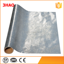 Decorative film silver adhesive car wrap material TPU glitter vinyl