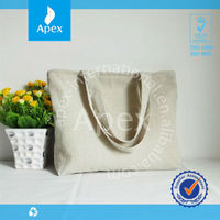 Good quality soft large shopping bag with zipper