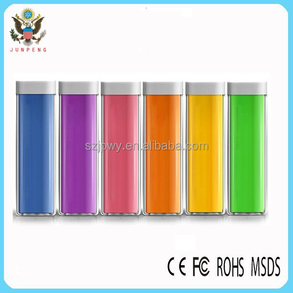new product top selling china factory portable charger power bank 2600mah,promotional cheapest power banks 2600mah