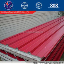 SGCC building construction materials corrugated color coated steel roofing sheets