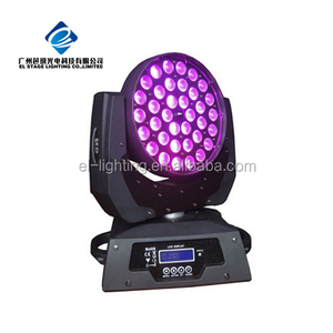 Guangzhou led stage light 36*10w 4in1 zoom wash moving head led