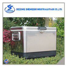 54L Stainless ice box storage beverage cooler handy beer cooler