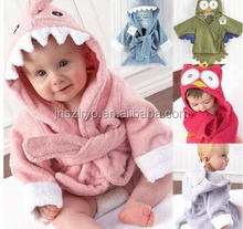 animal hooded spa robe
