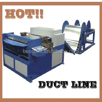 duct cutting machine