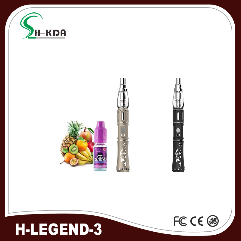 2016 hottest H-legend 3 hookah liquid flavor glass shisha mirrors vapor pens phantom hookah