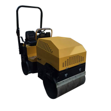 Factory Sell Mini Vibratory Earth Compactor Machine road roller