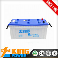 12V Lead acid 180AH dry charged car battery N180