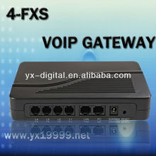 4 fxs gateway voip ata device gsm gateway traditional phone adapter