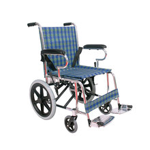16 inch wheels aluminum lightweight manual wheelchair for disabled outside
